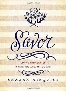 savor cover