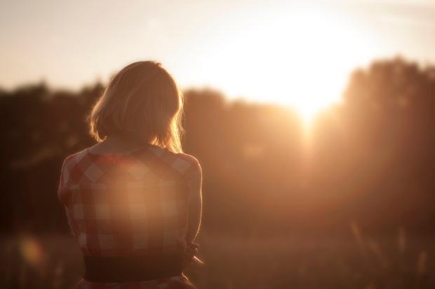 dawn-nature-sunset-woman